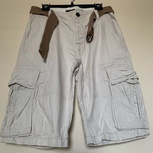 H&M Cargo Shorts with Belt